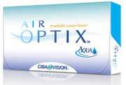 Thumb air optix aqua box